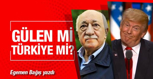 Trump Gülen için Türkiye'yi gözden çıkarmaz çıkaramaz!