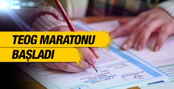 TEOG maratonu 23-24 Kasım soruları boş bırakmayın