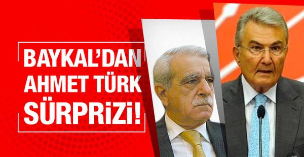 Deniz Baykal'dan Ahmet Türk sürprizi!