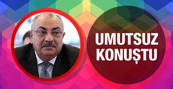 Türkeş Kıbrıs görüşmeleri için umut vermedi