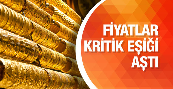 Gram altın 130 lirayı aştı çeyrek altın fiyatı bugün uçuyor!