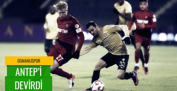 Osmanlıspor-Gaziantepspor maç sonucu