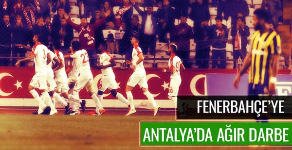 Antalyaspor Fenerbahçe maçı sonucu ve özeti