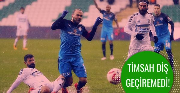 Bursaspor Aydınspor'a diş geçiremedi