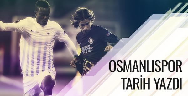 Osmanlıspor tarih yazdı!