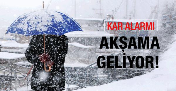 Kuvvetli Yağmur ve Kar Uyarısı