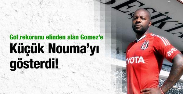 Nouma Gomez'e öyle bir gönderme yaptı ki!