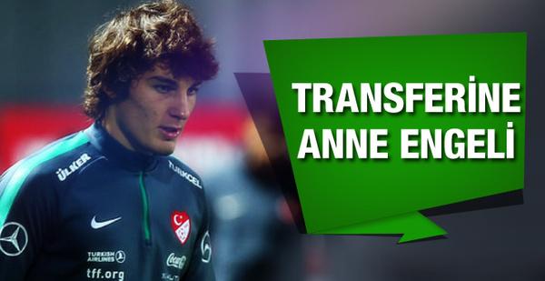 Çağlar Söyüncü'nün transferine annesi izin vermedi