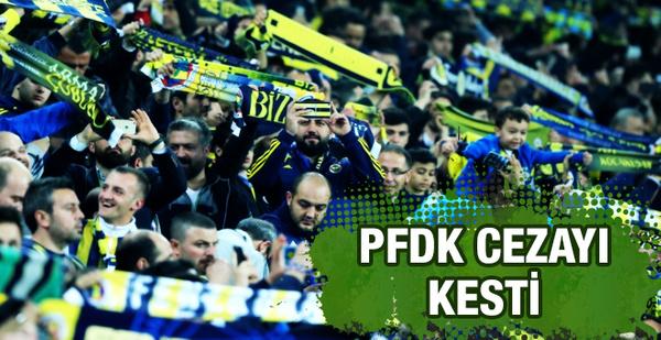 PFDK Fenerbahçe'ye küfür cezası kesti