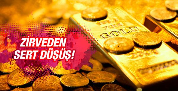 Çeyrek altın fiyatları 13.04.2016 zirveden düştü!