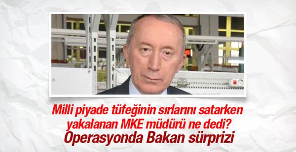 Suçüstü yakalanan MKE müdürü bakın ne dedi!