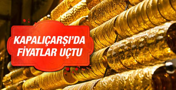 Altın fiyatları zirve gördü 15.06.2016 çeyrek ve gram altın fiyatları