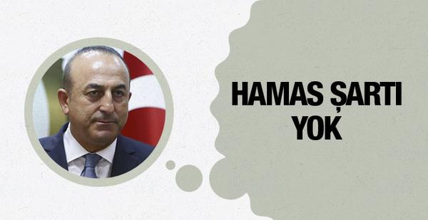 İsrail'le görüşmeler Hamas şartı var mı?