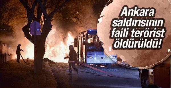 Ankara saldırısının faili PKK'lı terörist öldürüldü!