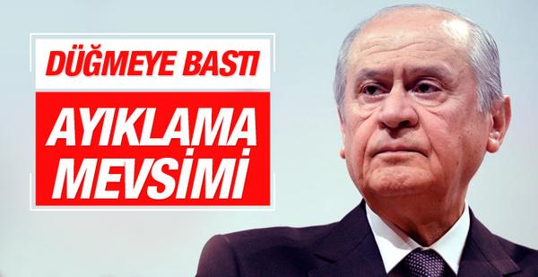 Bahçeli düğmeye bastı muhalifler MHP'den ayıklanacak!