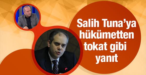 Salih Tuna'ya en sert tepki Bakan Kılıç'tan işgüzarlık değilse...