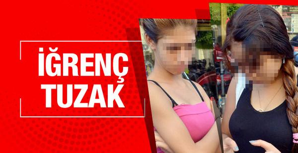 Adana'da iki suriyeli kızı iğrenç tuzak