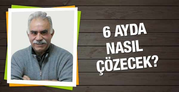 Abdullah Öcalan 6 ayda terörü nasıl çözecek?