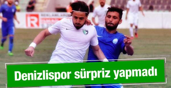 Denizlispor Kemerspor'u yendi adını 3. tura yazdırdı