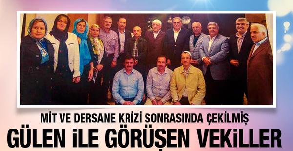 Fethullah Gülen hatırası olay! Fotoğraftaki AK Partililer kim?