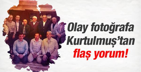 Kurtulmuş'tan olaylı Gülen fotoğrafına flaş yorum!