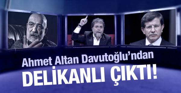 Ahmet Davutoğlu, Ahmet Altan kadar delikanlı olamadı!