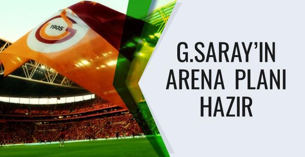 Galatasaray TT Arena'dan para kazanmak istiyor