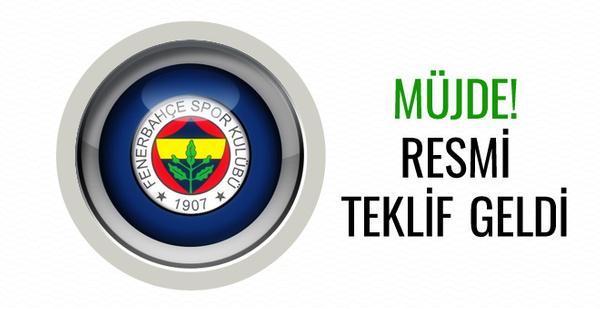 Fenerbahçe'ye müjde! Resmi teklif geldi...