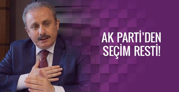 Şentop uyardı! Türkiye seçime mecbur kalır