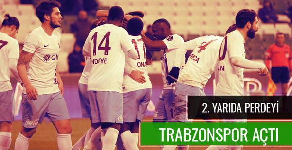 Bursaspor Trabzonspor maçı geniş özeti