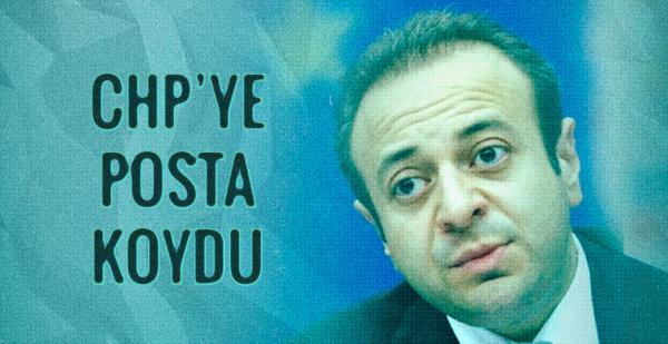 Bağış CHP'ye o manşetle posta koydu