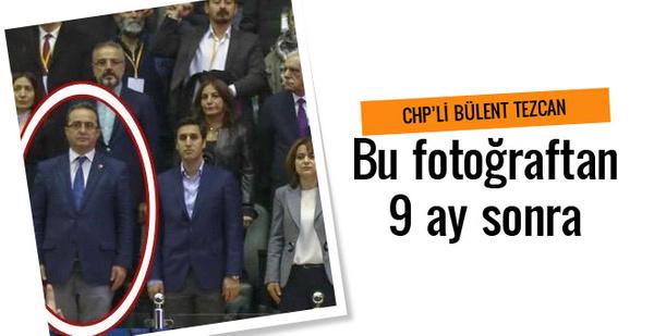 CHP'li Tezcan HDP kongresinde ayağa kalkınca