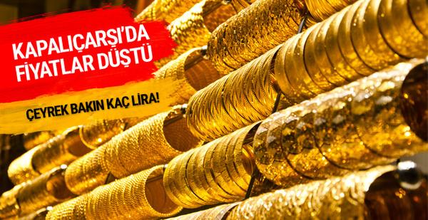 Çeyrek altın fiyatı bugün ne kadar altın fiyatları düştü!