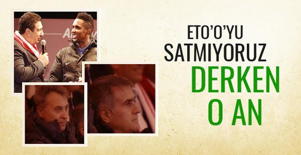 Beşiktaş'a Antalya'da Eto'o hüsranı