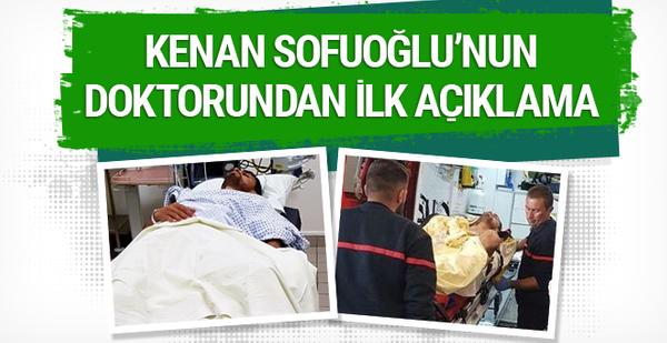 Kenan Sofuoğlu'nun doktorundan ilk açıklama geldi