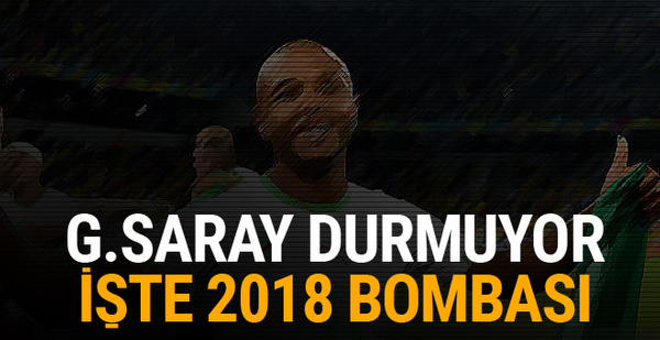 Galatasaray durmuyor! İşte 2018 bombası...