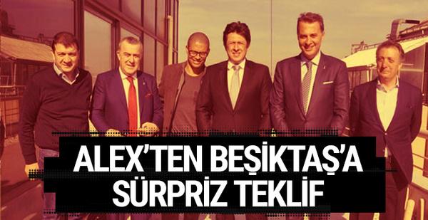 Alex'ten Beşiktaş'a sürpriz teklif!