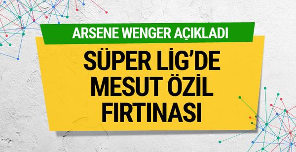 Arsene Wenger'den Mesut Özil için flaş açıklama
