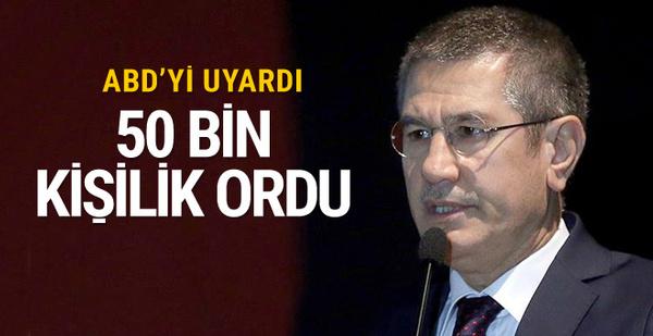 Canikli'den kritik açıklama: 50 bin kişilik orduyu..