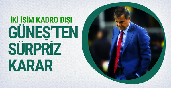 Beşiktaş'tan sürpriz karar! İki isim kadro dışı