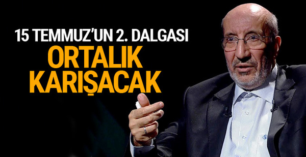 Abdurrahman Dilipak'ın iddiası şoke etti