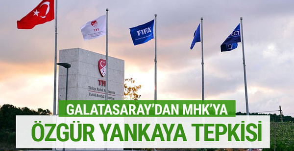 Galatasaray'dan Özgür Yankaya tepkisi