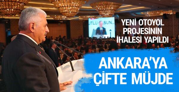 Başbakan Yıldırım'dan Ankara'ya çifte müjde
