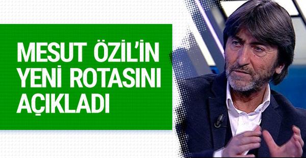 Rıdvan Dilmen'den Mesut Özil için flaş açıklama