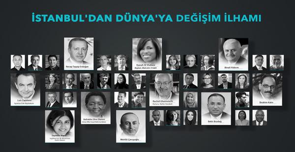 """İstanbul'dan Dünya'ya """"değişim ilhamı"""""""