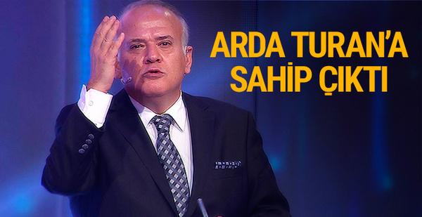 Ahmet Çakar Arda Turan'a destek!