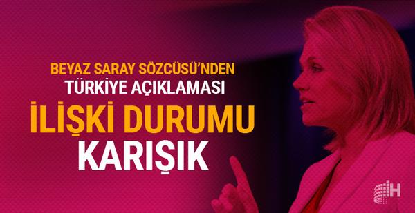 ABD'den Türkiye açıklaması: İlişkilerimiz karışık