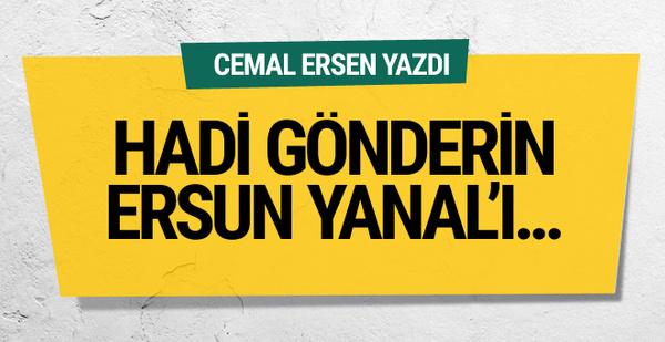 Cemal Ersen'den Trabzonspor yönetimine tepki