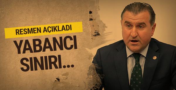 Spor Bakanı Bak'tan yabancı sınırı açıklaması