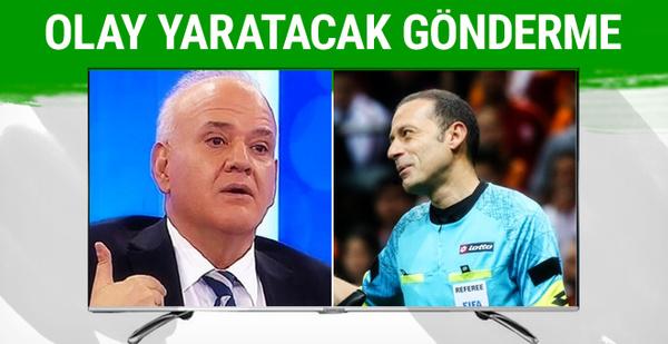 Ahmet Çakar'dan Cüneyt Çakır'a olay gönderme